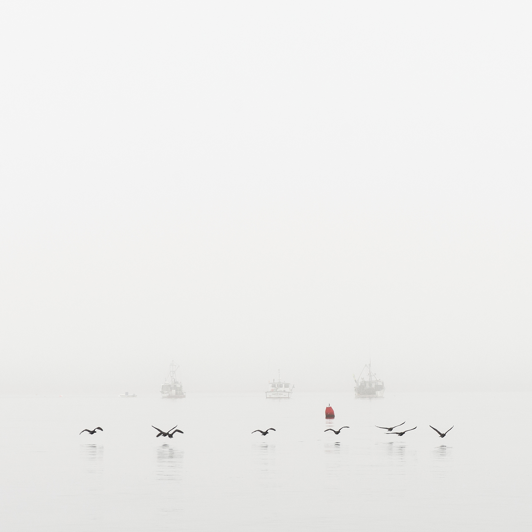 ferry-beach-fog